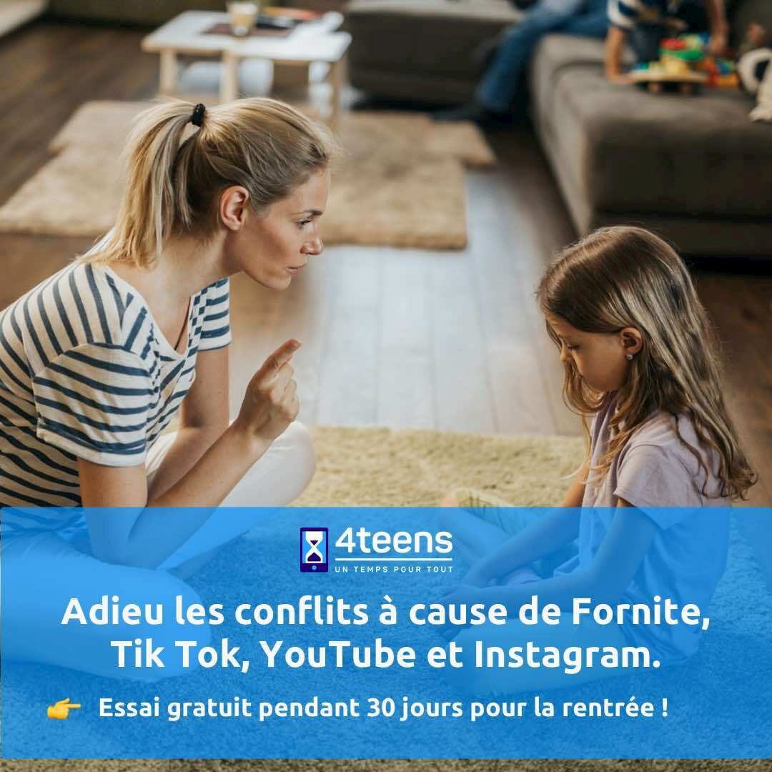 exemple facebook ads pour 4teens